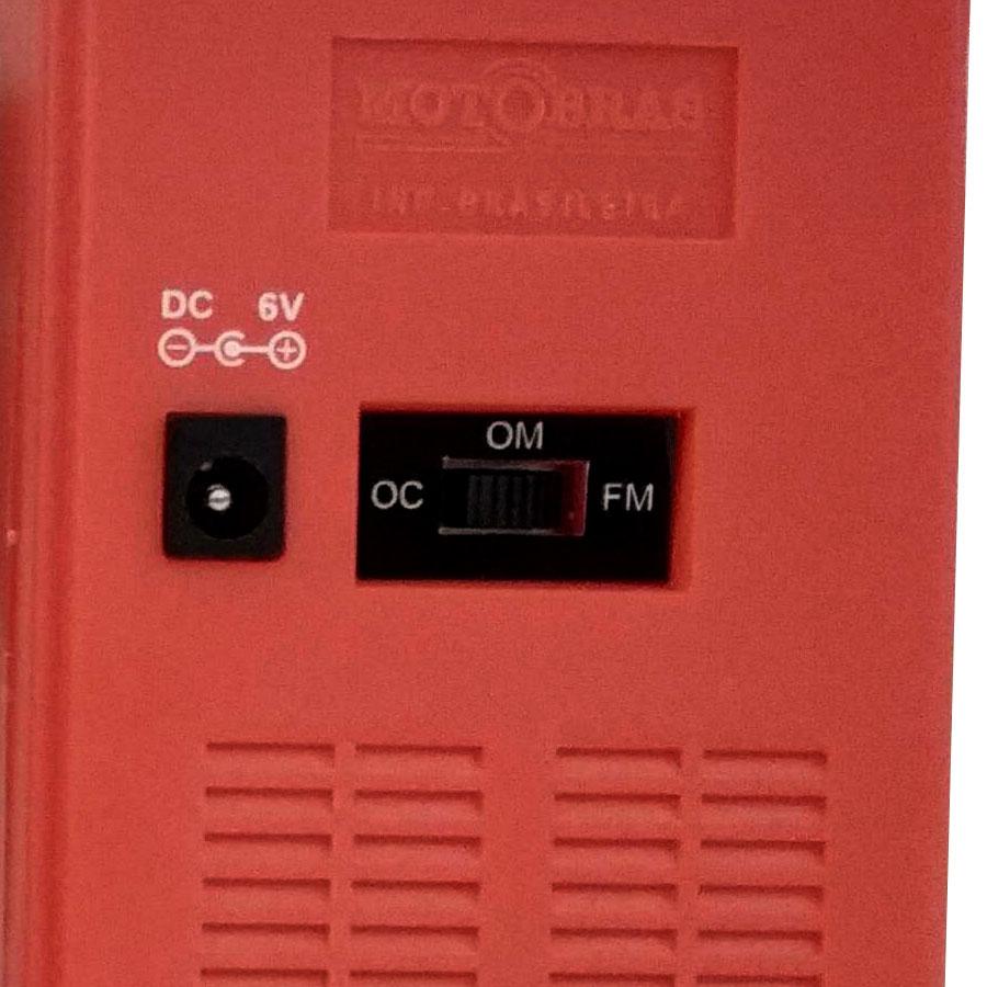 RADIO MOTOBRAS 3 Faixas RM-PSMP32 Laranja