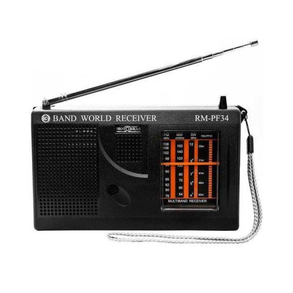 RADIO MOTOBRAS 5 Faixas RM-PF34