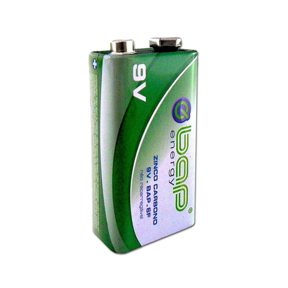Bateria 9V Comum Zinco - 1 unidade - BAP6F