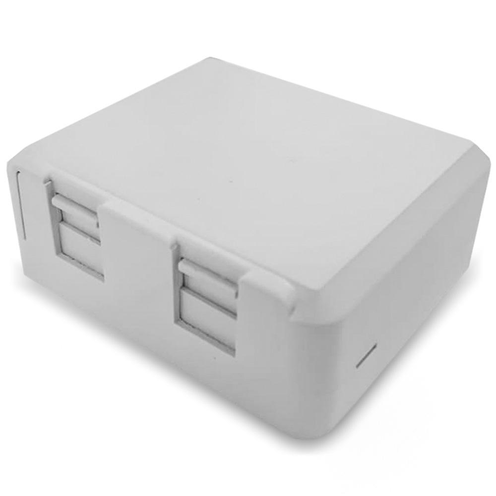 Caixa de Sobrepor para 2 Keystone - MUCX0020