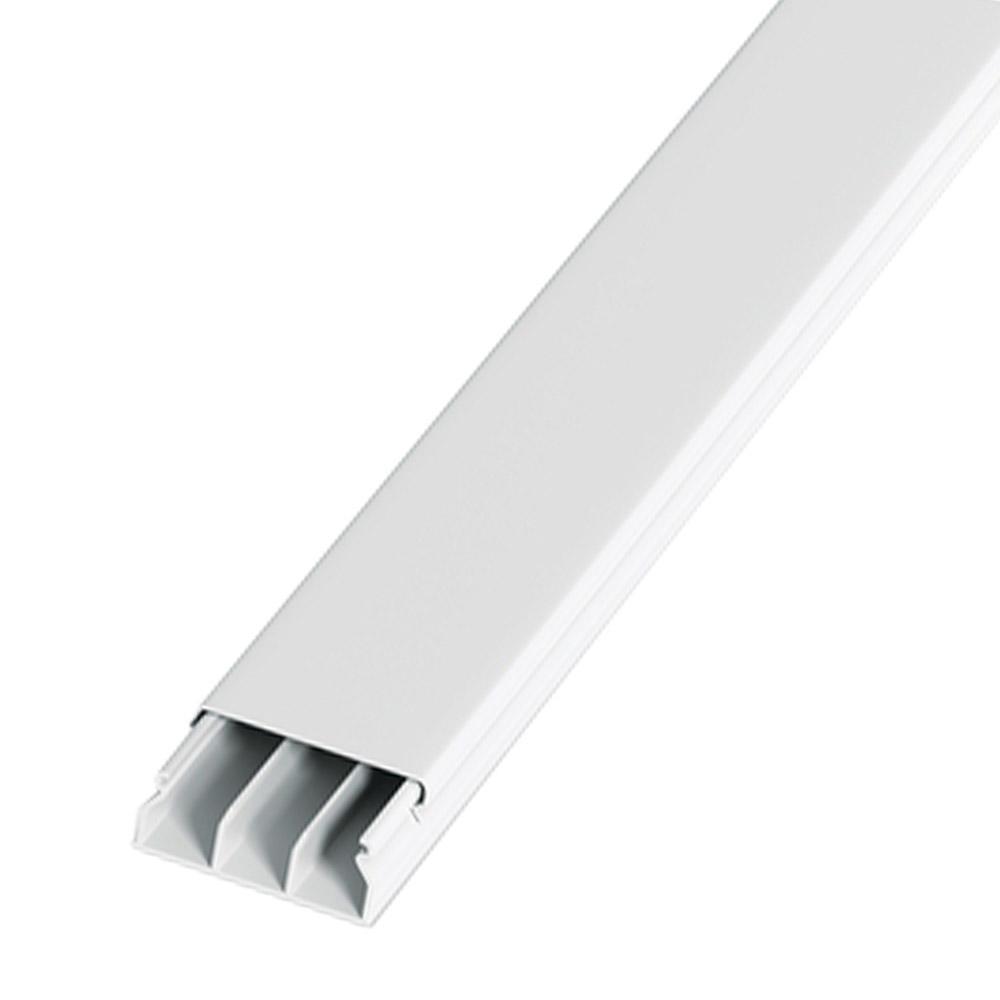 Canaleta Minicanal PVC com Adesivo - Barra com 2mts - Br - HTA5020