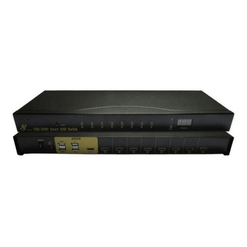 Chaveador KVM 8 Portas HDMI - EL308