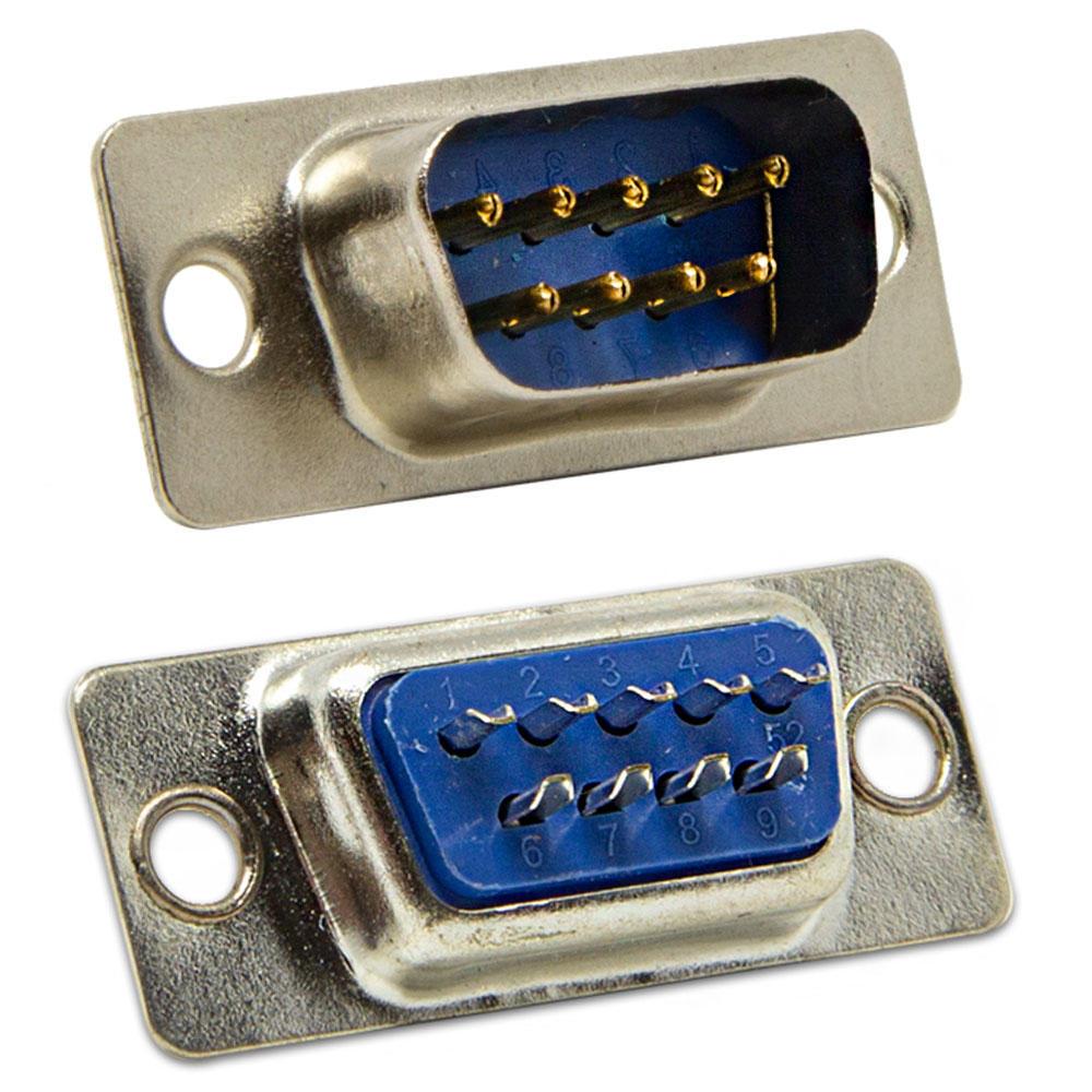 Conector DB9 Macho Solda