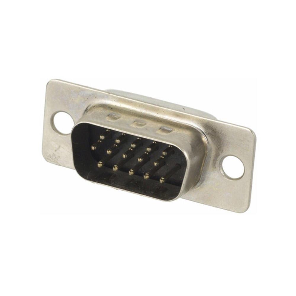 Conector HD15 Macho Solda