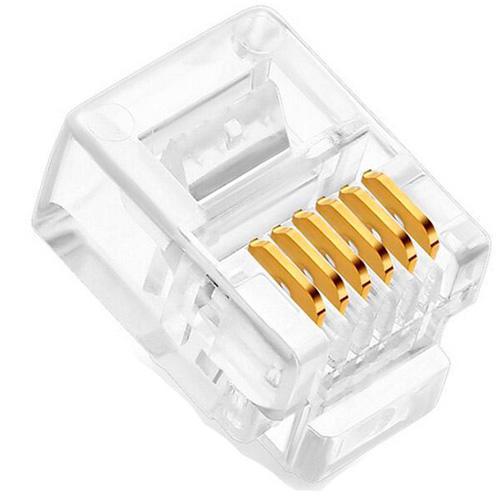 Conector RJ12 - 6 x 6