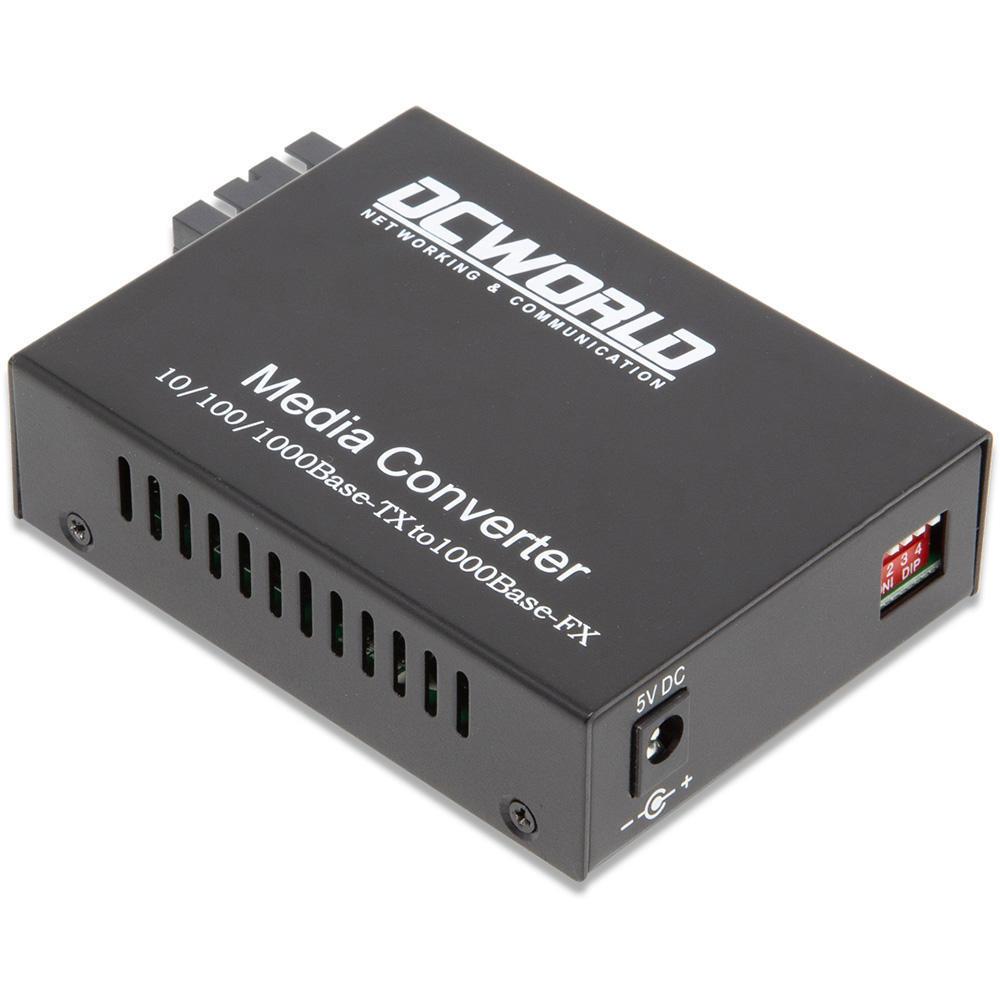 Conversor de Mídia Gigabit Monomodo 20km - Sc