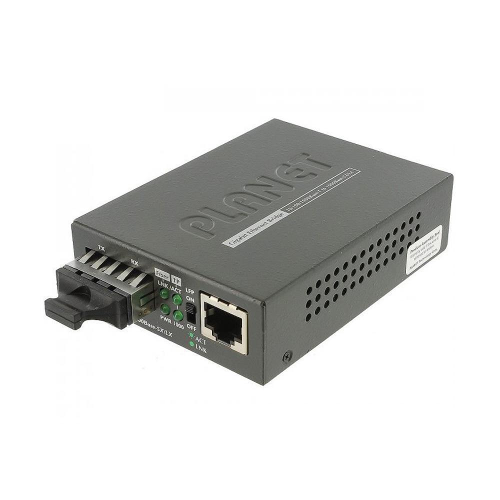 Conversor de Midia Gigabit Monomodo GT802S