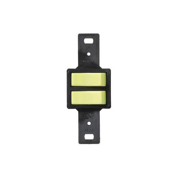 Interruptor 2 Teclas Simples sem placa