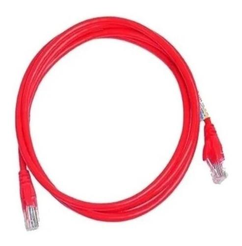 Patch Cord 1,5 Metros CAT5e Vermelho
