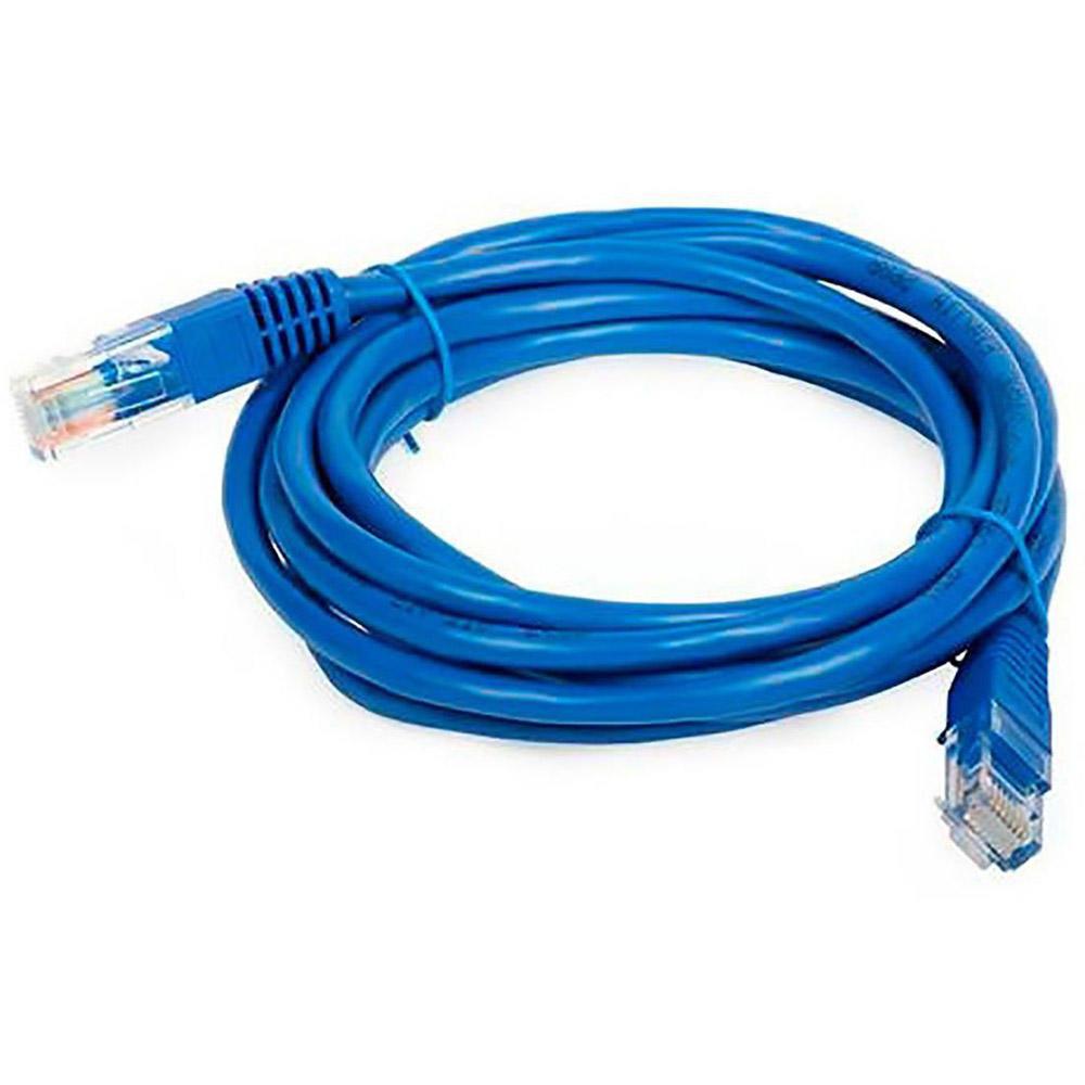 Patch Cord U/UTP Cat5e 2,00 Metros Azul