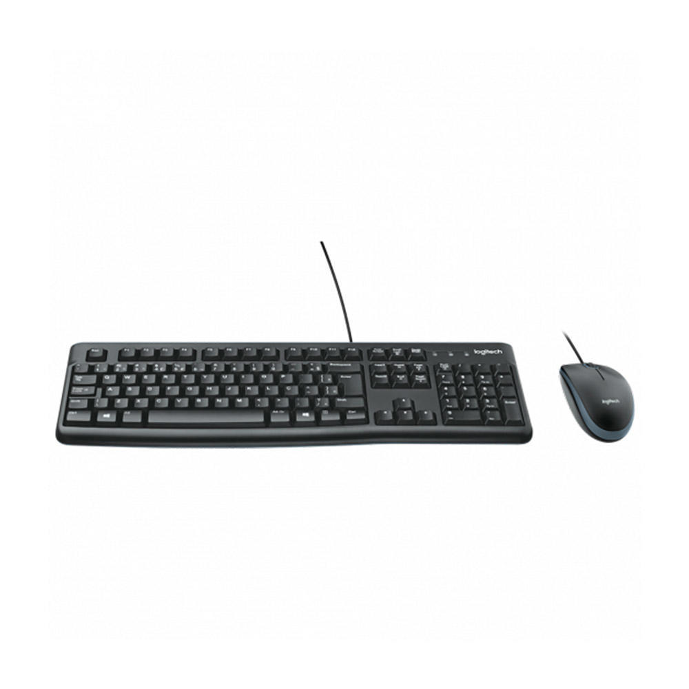 Teclado e Mouse Usb Preto MK-120