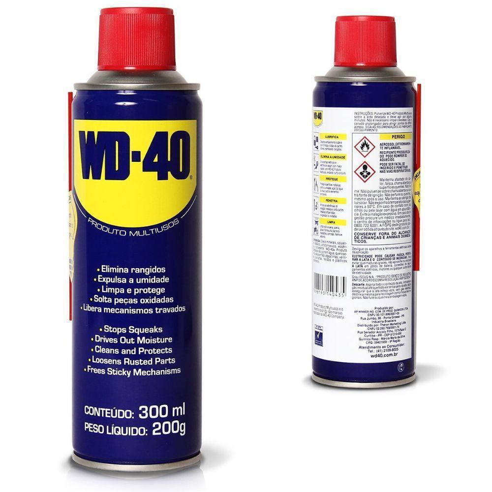 WD-40® PRODUTO 300ML (AEROSSOL)