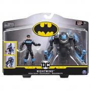 Batman - Figura De Luxo 10 Cm Com Armadura Nightwing