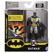 Batman - Figuras 10 Cm - Batman Morcego Dourado