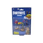 Fortnite - Carimbos Com 3 Figuras - Nog Ops, Ghoul Trooper E Brite Bomber