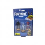 Fortnite - Carimbos Com 3 Figuras - Omega, Bunny Brawler E Valor