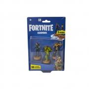 Fortnite - Carimbos Com 3 Figuras - Steel Sight, Rex E Wukong