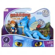 Como Treinar Seu Dragão - Rescue Riders - Dak & Winger
