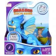 Como Treinar Seu Dragão - Rescue Riders - Winger 12 Cm