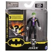 Batman - Figuras 10 Cm - Coringa Roupa Preta