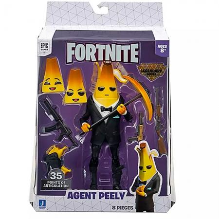 Fortnite - Legendários - Figuras 15 Cm - Agent Peely