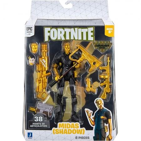 Fortnite - Legendários - Figuras 15 Cm - Midas (Shadow)