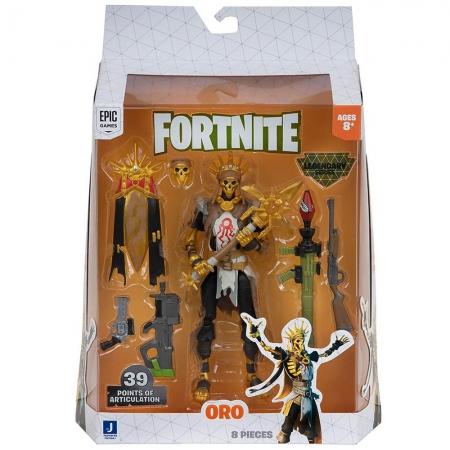 Fortnite - Legendários - Figuras 15 Cm - Oro