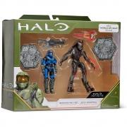 Halo - 2 figuras - Spartan MK V[B] + Jega 'Rdomnai