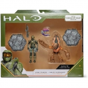 Halo - 2 figuras - UNSC Marine + Grunt Conscript