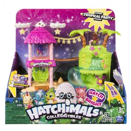 Hatchimals - Colleggtibles - Playset Ilha Tropical