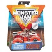 Monster Jam - Escala 1:64 - Miniveículo E Figura - Zombie