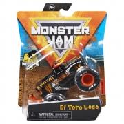 Monster Jam - 1:64 Die Cast Truck El Toro Loco Black