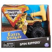 Monster Jam - Esc 1:43 - Veículo  Spin Rippers  Earth Shaker