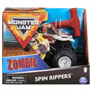 Monster Jam - Escala 1:43 - Veículo - Spin Rippers - Zombie