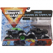 Monster Jam - Escala 1:64 - Alien Invasion E Soldier Fortune