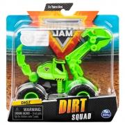 Monster Jam - Escala 1:64 - Dirt Squad - Digz