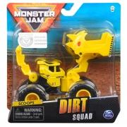 Monster Jam - Escala 1:64 - Dirt Squad - Scoopz