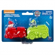 Patrulha Canina - Miniveículos Pack com 2 veículos - Marshall e Rocky