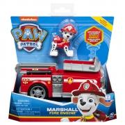 Patrulha Canina - Veículo Com Figura - Marshall