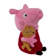 Peppa Pig - Pelúcia de 15 cm - Peppa