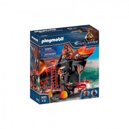 Playmobil - Aríete De Fogo Dos Bandidos De Burnham