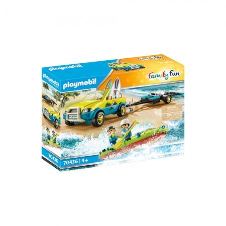 Playmobil - Buggy com Reboque e Canoa