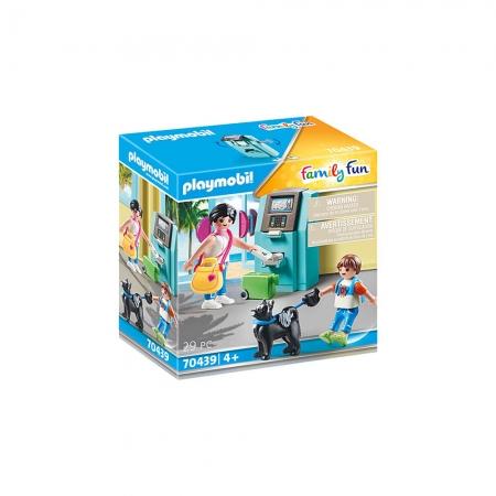 Playmobil - Caixa Eletrônico e Turista