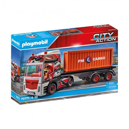 Playmobil - Caminhão de Carga com Conteiner