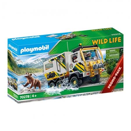 Playmobil - Caminhão De Expedição Ao Ar Livre