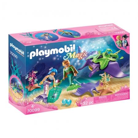 Playmobil - Colecionador De Pérolas Com Arraias