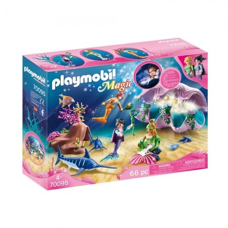 Playmobil - Concha E Pérola Com Luz Noturna