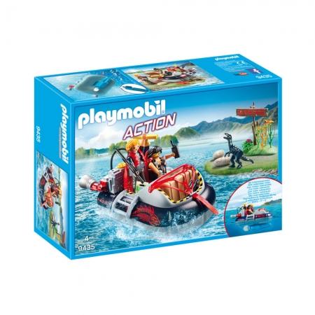 Playmobil Dino Hovercraft Com Motor Subaquatico Sunny