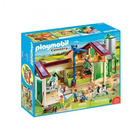 Playmobil - Fazenda Com Animais