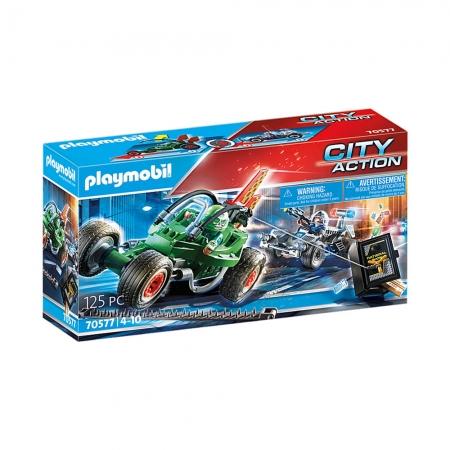 Playmobil - Go Kart Fuga da Polícia